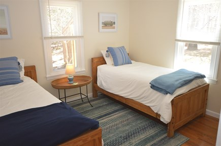 Eastham Cape Cod vacation rental - First floor bedroom with two twin beds