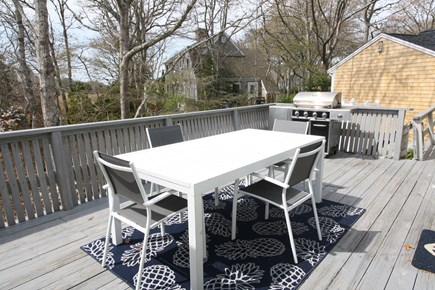 West Yarmouth Cape Cod vacation rental - Grill on the deck out back