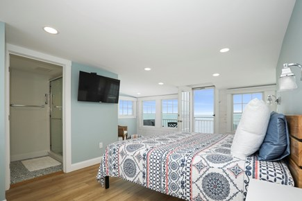 Harwich Cape Cod vacation rental - Second floor master with king bed, full bath and balcony