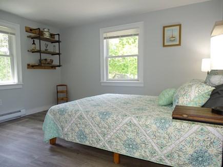 Brewster Cape Cod vacation rental - Bright Queen bedroom with hardwood floors