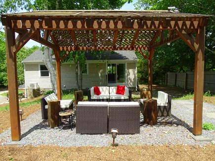 Brewster Cape Cod vacation rental - Large gazebo with seating area - grill out or relax
