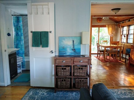 PLYMOUTH MA vacation rental - Open concept. View from Living room into Kitchen and Dining Area