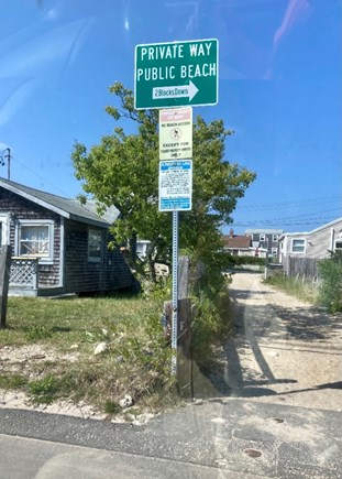PLYMOUTH MA vacation rental - Your Private Entrance to White Horse Beach