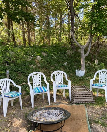 PLYMOUTH MA vacation rental - Large Backyard with Firepit