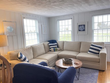 Barnstable, Centerville Cape Cod vacation rental - Living room, plenty of seating.