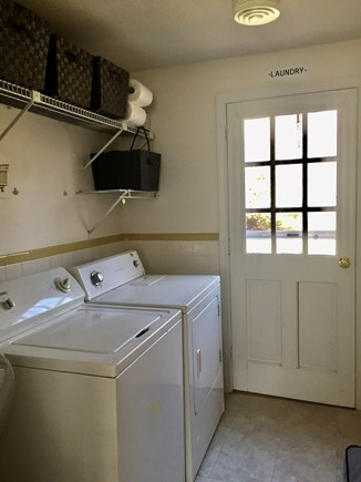 West Harwich Cape Cod vacation rental - Laundry room