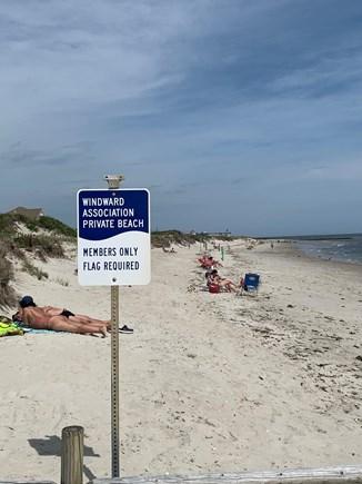 Dennis Cape Cod vacation rental - Private deeded beach