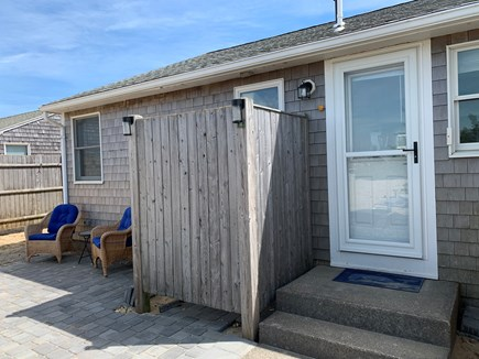 Dennis Cape Cod vacation rental - New patio with outdoor shower