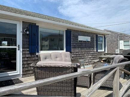 Dennis Cape Cod vacation rental - Front deck