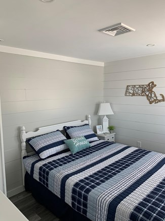 Dennis Cape Cod vacation rental - Front bedroom with queen bed and water views