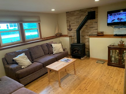 North Falmouth Cape Cod vacation rental - Lower level living room