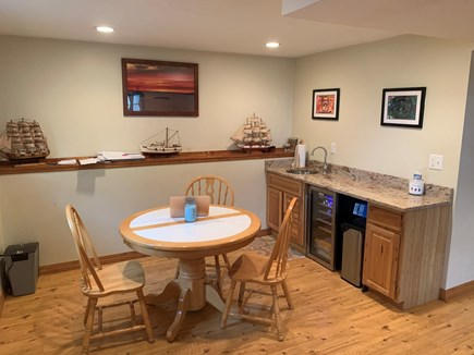 North Falmouth Cape Cod vacation rental - Lower level wet bar