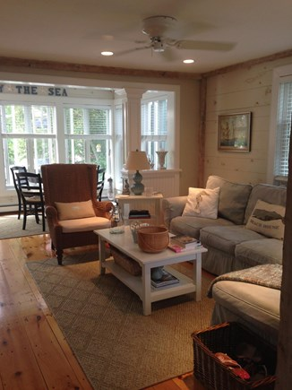 New Seabury New Seabury vacation rental - Living room with ceiling fan