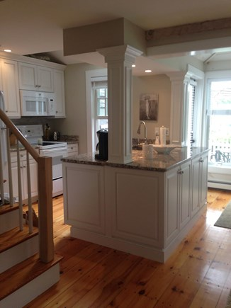 New Seabury New Seabury vacation rental - Kitchen area with large granite island