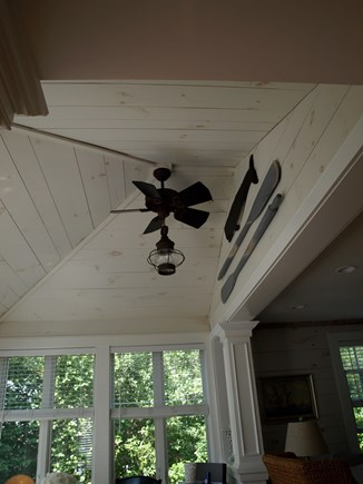 New Seabury New Seabury vacation rental - Sunroom with ceiling fan