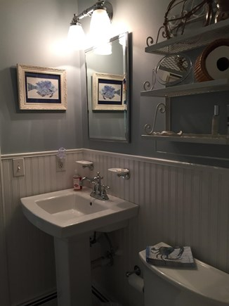 New Seabury New Seabury vacation rental - Downstairs full bath with tub/shower and washer/dryer
