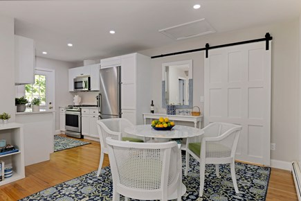 East Orleans Cape Cod vacation rental - Dining area looking to kitchen