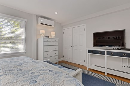 East Orleans Cape Cod vacation rental - TV in master bedroom