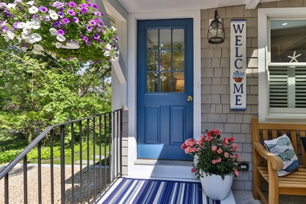 East Orleans Cape Cod vacation rental - Welcoming entrance to your adorable Cape escape!