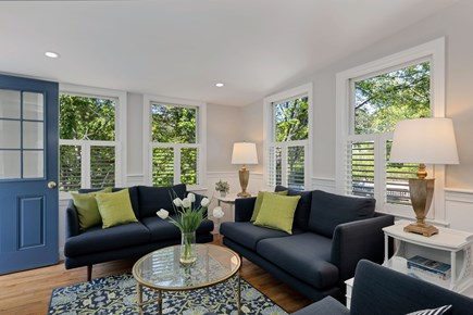 East Orleans Cape Cod vacation rental - Entrance to your cozy Living Room with abundant light