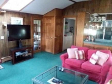 Dennis Cape Cod vacation rental - Family room with large TV