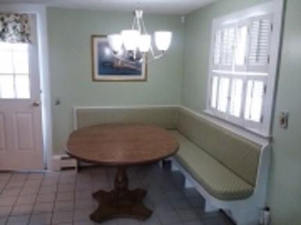 Dennis Cape Cod vacation rental - Dining nook