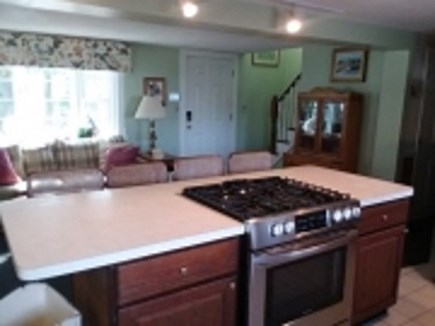 Dennis Cape Cod vacation rental - Nice big kitchen with island