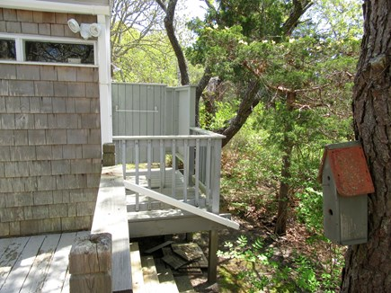 East Dennis Cape Cod vacation rental - Outside shower off Laundry room