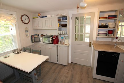 East Dennis Cape Cod vacation rental - Dining Area towards Porch