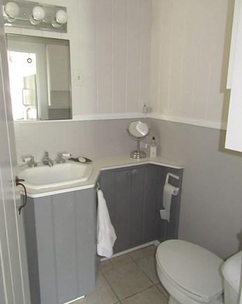 East Dennis Cape Cod vacation rental - Bathroom partial view