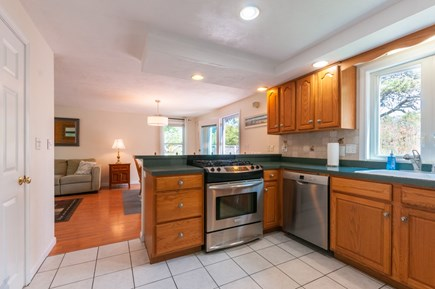Sandwich Cape Cod vacation rental - Kitchen opens to Dining area