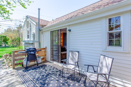 Dennis Cape Cod vacation rental - Gas grill under the Cape stars
