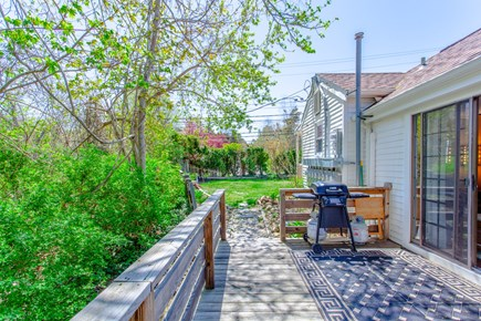 Dennis Cape Cod vacation rental - BBQ grill and seating for 2!