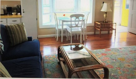 Barnstable, Centerville Cape Cod vacation rental - Sunny living & dining area of our Port Apt.
