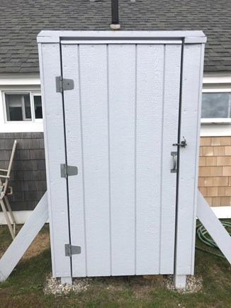 Barnstable, Craigville Cape Cod vacation rental - Love an Outdoor Shower in the summer!