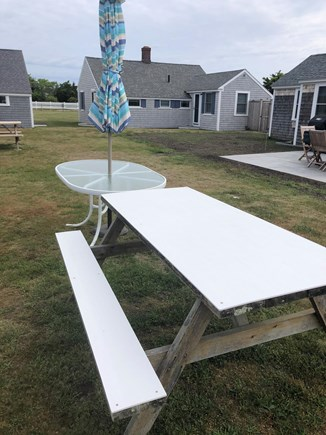 Barnstable, Craigville Cape Cod vacation rental - Plenty of outdoor seating in the shared courtyard.
