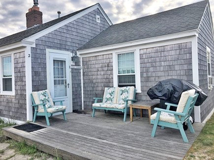 """Barnstable, Craigville Cape Cod vacation rental - The deck is my favorite """"room in the house"""""""