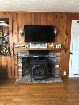 Barnstable, Craigville Cape Cod vacation rental - Smart TV and cozy gas stove Both with remotes