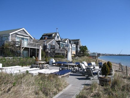Provincetown Cape Cod vacation rental - Common deck viewed from the west