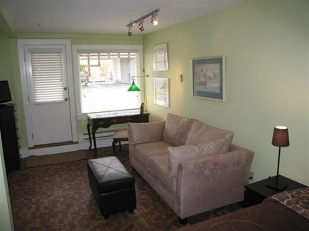 Provincetown Cape Cod vacation rental - Desk and loveseat sleeper