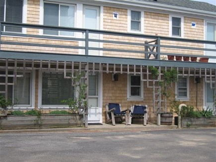 Provincetown Cape Cod vacation rental - Private stoop with two chairs