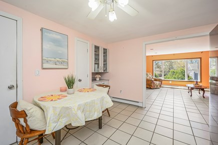 Dennis Port Cape Cod vacation rental - Table seats 4-6. Keurig & drip coffee maker provided