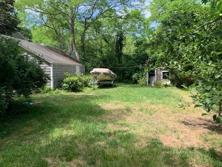 North Eastham Cape Cod vacation rental - Backyard view