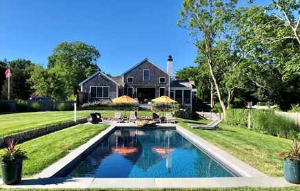 Barnstable, Historic Rte 6A Cape Cod vacation rental - Heated, 15 X 40 saline pool with automatic safety cover