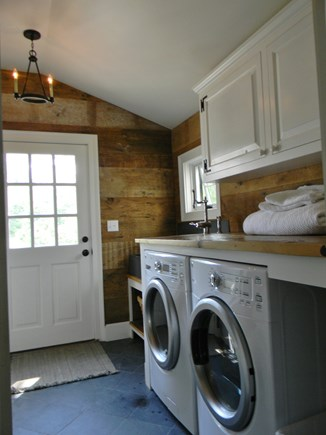 Barnstable, Historic Rte 6A Cape Cod vacation rental - Main Laundry room (2nd laundry located off Master suite)