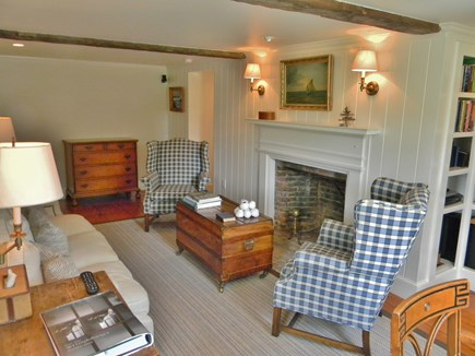 Barnstable, Historic Rte 6A Cape Cod vacation rental - Otis House Study-Adjoining Queen & 3rd Twin bedrooms