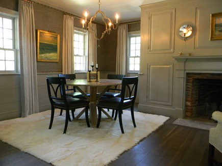 Barnstable, Historic Rte 6A Cape Cod vacation rental - Intimate Dining Room