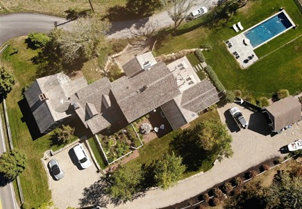 Barnstable, Historic Rte 6A Cape Cod vacation rental - Aerial view of property
