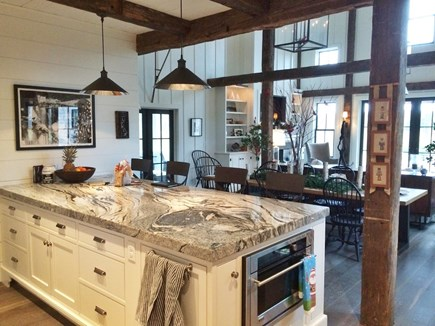 Barnstable, Historic Rte 6A Cape Cod vacation rental - Kitchen/Dining/Living