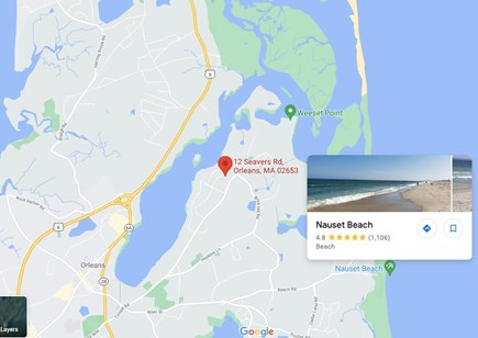 E. Orleans - Tonset Area Cape Cod vacation rental - Amazing location!